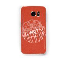 Redheads Not Warheads Samsung Galaxy Case/Skin