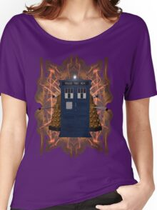 Through the Flames of Gallifrey Women's Relaxed Fit T-Shirt