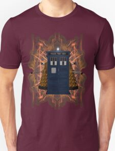 Through the Flames of Gallifrey Unisex T-Shirt