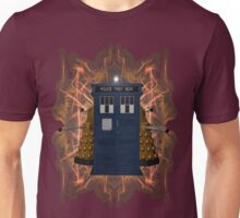 Through the Flames of Gallifrey Unisex T-Shirt