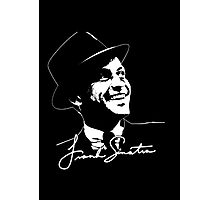 Frank Sinatra - Portrait and signature Photographic Print