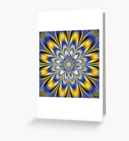 FLASHING STAR Greeting Card