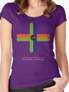 BLOOR-YONGE 1966 Women's Fitted Scoop T-Shirt