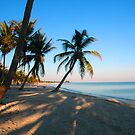Evening Light at Smather's Beach in Key West FL by Susanne Van Hulst
