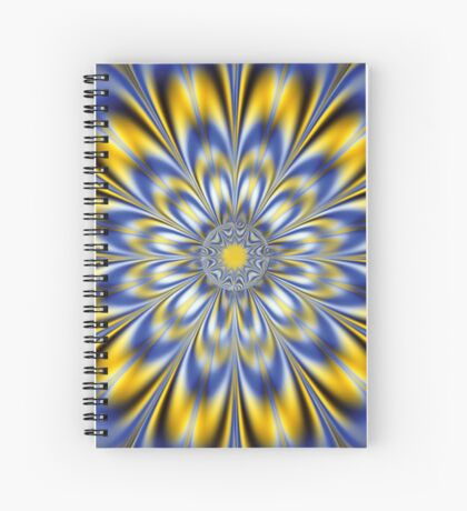 FLASHING STAR Spiral Notebook