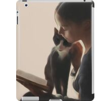 The PurrFect Read iPad Case/Skin