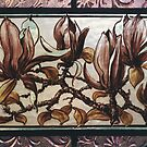 Painted Magnolias by Jeffrey Hamilton