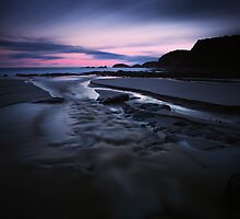 Last light at Bushrangers Bay by Mark Shean