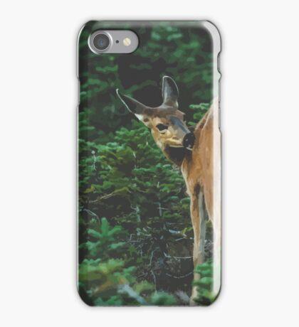 Dear, Hurricane Ridge iPhone Case/Skin