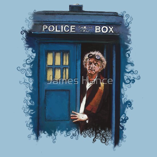 TShirtGifter presents: Doctor The Future (Back To The Tardis)