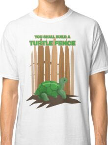 Turtle Fence Classic T-Shirt