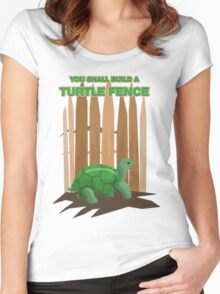 Turtle Fence Women's Fitted Scoop T-Shirt