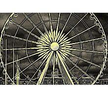 Echo Wheel, Albert Dock Liverpool Photographic Print