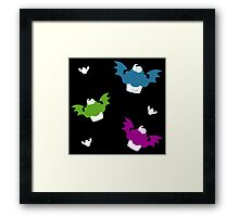 Batty Cakes Framed Print