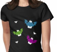 Batty Cakes Womens Fitted T-Shirt