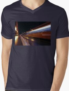 Budapest by Night, HUNGARY Mens V-Neck T-Shirt