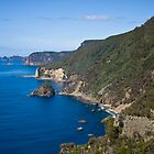 Waterfall Bay looking to Cape Hauy by andychiz