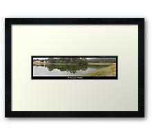 A Haven for Wildlife Framed Print