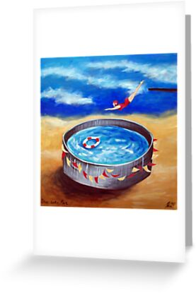 Dive in to fun by Ira Mitchell-Kirk