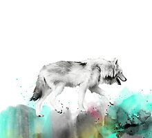 Wild No.3 // Wolf by Amy Hamilton
