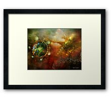 Never Just One Rainy Day (Art & Poetry) Framed Print