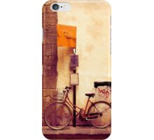 Bicycle red iPhone Case/Skin