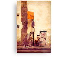 Bicycle red Metal Print