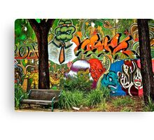 Urban Park Canvas Print