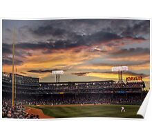 Fenway Sunset Poster