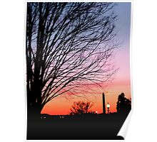 Capitol Hill Sunset Poster