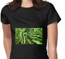 Onyx Jade Womens Fitted T-Shirt