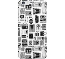 Travel Essentials Pattern iPhone Case/Skin
