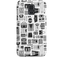 Travel Essentials Pattern Samsung Galaxy Case/Skin