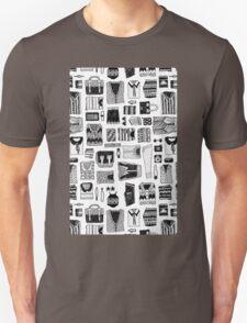 Travel Essentials Pattern T-Shirt