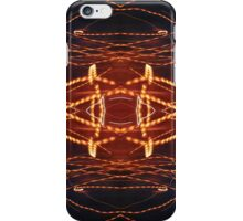 Dancing rays of light iPhone Case/Skin