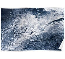 Marti Paradisis snow surfing, Shipstern Bluff Poster