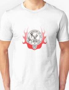Medievil Crest with Flames T-Shirt