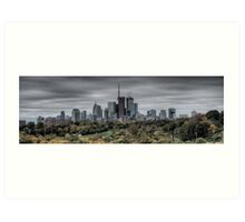 Thanksgiving Day in Toronto Art Print