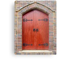Dungowan Church Doorway Metal Print
