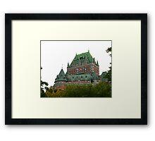 Fairmont Le Chateau Frontenac Framed Print
