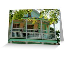 Hammock time in Key West Florida Greeting Card