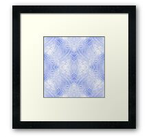 Wild Hearts - Blue Framed Print