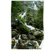 St Columbia falls, Tasmania Poster