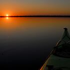 Lake Drummond Sunset by Andy Mueller