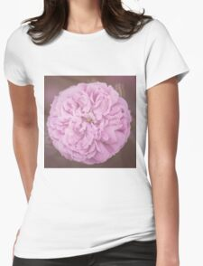 Camellia  Womens Fitted T-Shirt