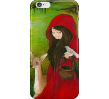 Lil' Red iPhone Case/Skin