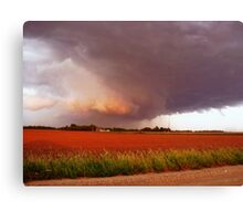 Rotation In The Storm Canvas Print