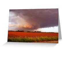 Rotation In The Storm Greeting Card