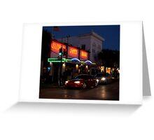 Sloppy Joe's Bar in Key West, FL Greeting Card