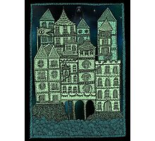 Busy Body Whimsical Castle  Photographic Print